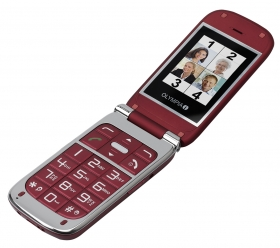 OLYMPIA Mobilephone BECCO PLUS,red