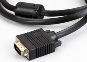 კაბელი KDVGA1001-1.8M, KINGDA, 3+4 VGA Cable,Al shield,Copper,N