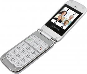 OLYMPIA Mobilephone BECCO PLUS, silver