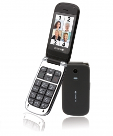 OLYMPIA Mobilephone BECCO PLUS,black