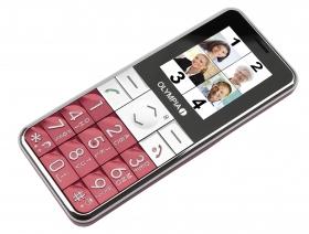OLYMPIA Mobilephone VIVA PLUS, Red