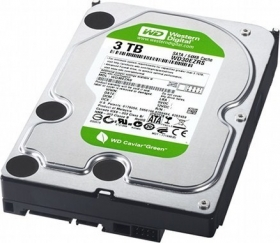 Western Digital Green WD30EZRX 3TB 5400rpm 64MB