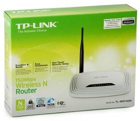 ქსელის გამანაწილებელი – TL-WR740N, TP-Link, (WiFi)