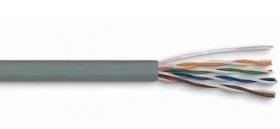 კაბელი - UTP CAT5E 24AWG CCA Grey 305m