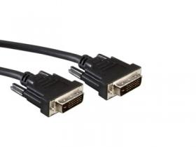 კაბელი – CD0002 DVI - DVI cabel, male type, digital dua