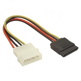 კაბელი – Gembird CC-SATA-PSY2 Molex female to Molex male + Seria