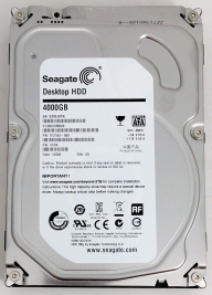 მყარი დისკი ST4000DM000, Seagate Barracuda 4TB, 7200rpm, 64mb SA