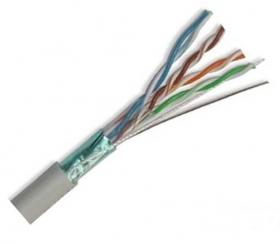 ქსელის კაბელი - UTP CAT5E 24AWG CCA Grey 305m